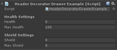 decorator drawers header example