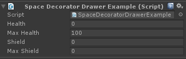 decorator drawer without space