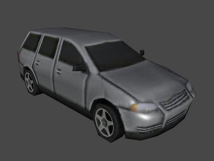 one car