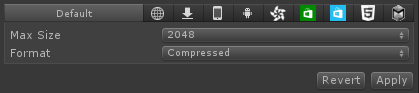 texture size and compression