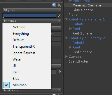 minimap camera layers