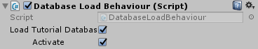 database-load-behaviour